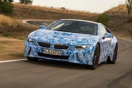 Xe BMW i8 sẽ chính thức ra mắt tại Triển lãm ô tô